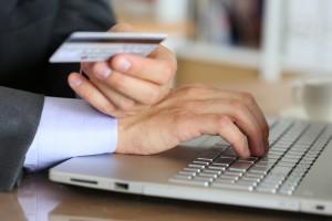 Pay using credit card