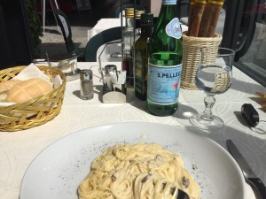 Lunch in the Italian Lakes