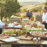 Tuscany villa with catering