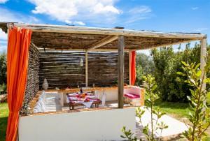 Trullo Corallo - veranda