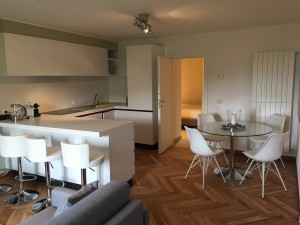 Colmegna one bed apartment living